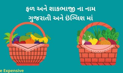 Vegetable and fruit name in Gujarati and english (1)