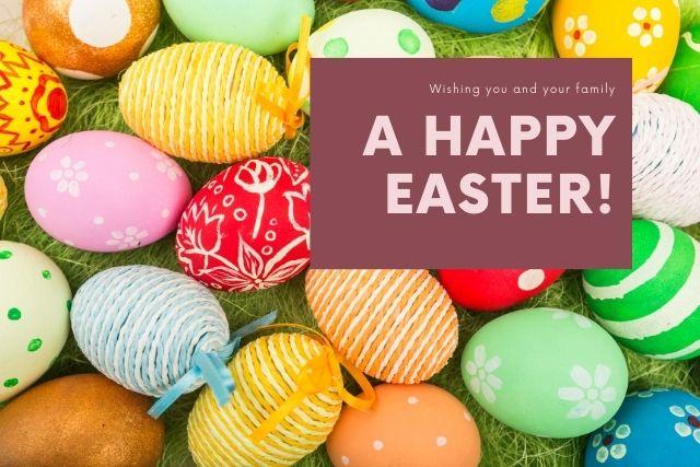 Happy Easter 2021 in Gujarati