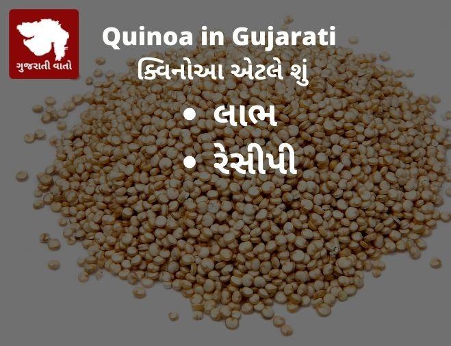 Quinoa in Gujarati | ક્વિનોઆ એટલે શું | Meaning of Quinoa in Gujarati